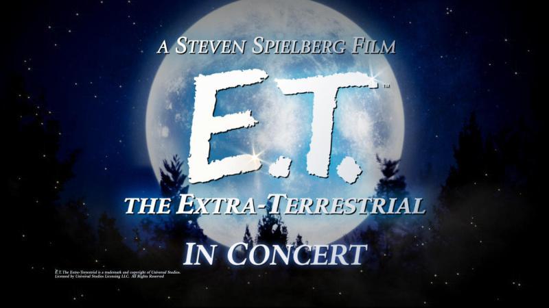 E.T. in concert